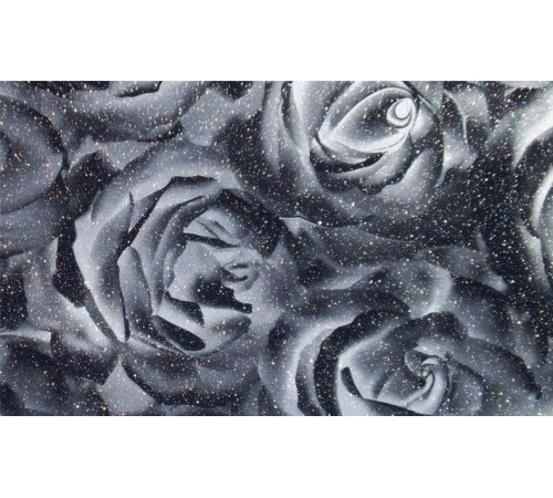 Роза черная ТМ-437 (металлик)
