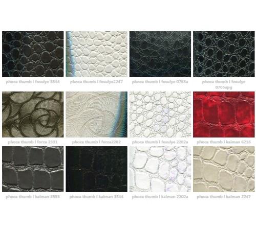 Образцы искусственной кожи для оббивки стульев